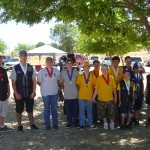 Skeet Medal Winners at Sac Valley